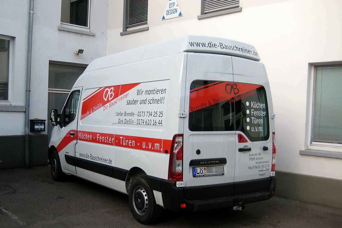 Werbetechnik Fahrzeugbeschriftungen